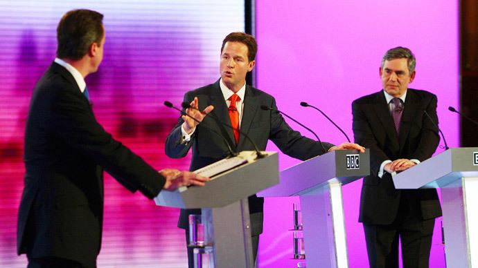 Sabotage! Tories accused of wrecking TV election debates