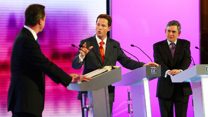 Sabotage! Tories accused of wrecking TV election debates