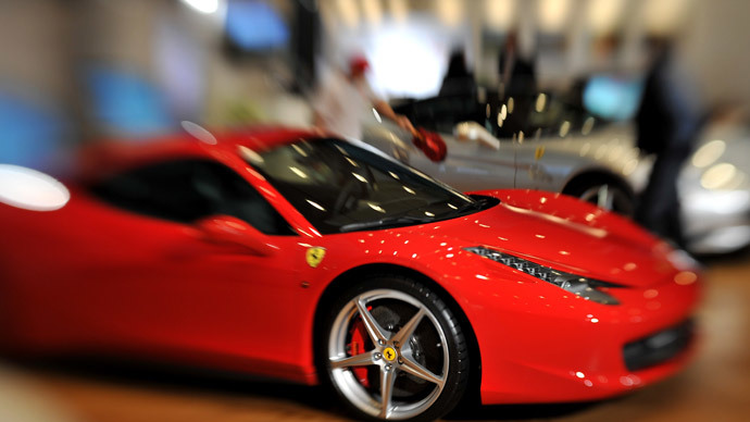 Crooked cop arrested, probed after driving Ferrari to work