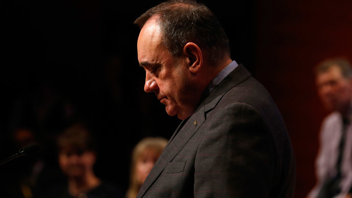 Salmond denies Westminster bid is to gain second Scottish referendum