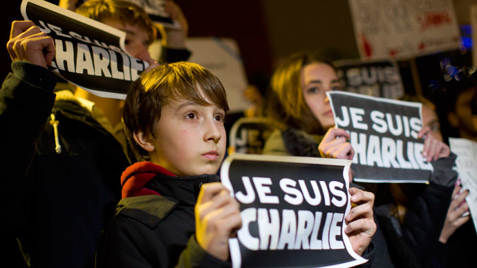 #JeSuisCharlie hashtag tweeted over 5mn times, #JeSuisAhmed on the rise