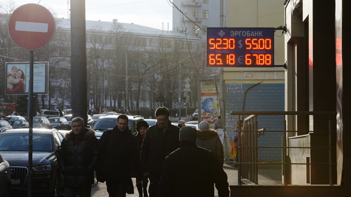 Moody's downgrades Russia to just above junk level