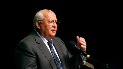 Former President of the Soviet Union Mikhail Gorbachev.(Reuters / Jose Luis Gonzalez)