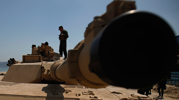US to boost European contingent with 3,000 troops, 150 tanks in 2015 – report