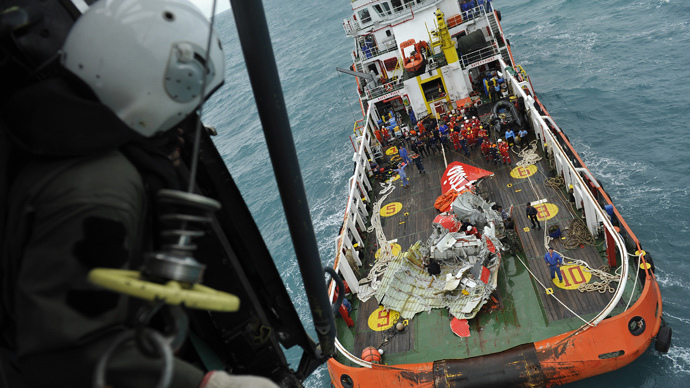 AirAsia QZ8501 black box found - Indonesia authorities