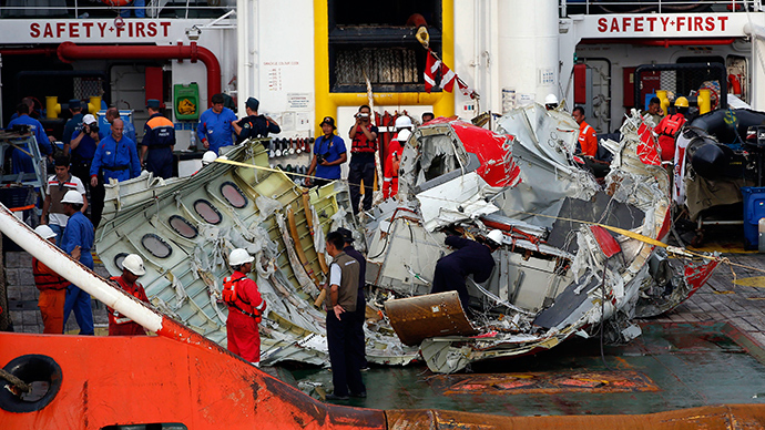Both AirAsia black boxes found, lifted from sea