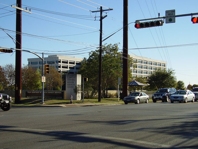 John H. Winters Human Services Center includes the headquarters for Texas Department of Family and Protective Services (Photo from wikipedia.org)