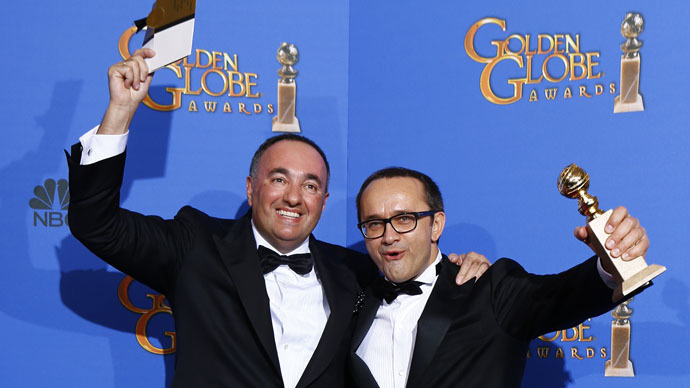 Russian 'Leviathan' wins Golden Globe for best foreign language film