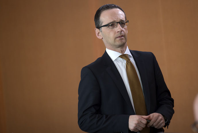 German Justice Minister Heiko Maas (AFP Photo/Johannes Eisele)
