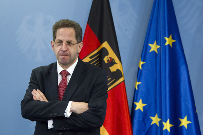 Hans-Georg Maassen, President of the German Office for the Protection of the Constitution (Reuters/Thomas Peter)