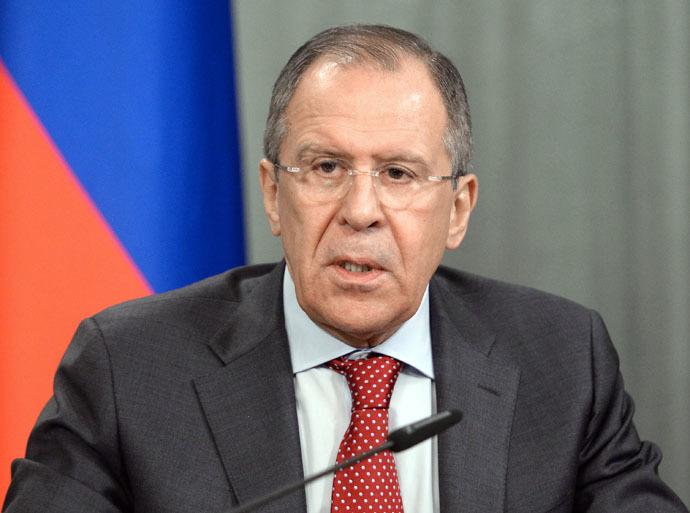 Russian Foreign Minister Sergei Lavrov (RIA Novosti/Sergey Kuznecov)