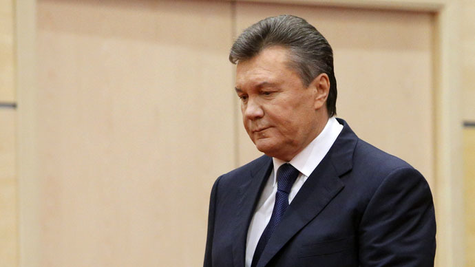 Interpol puts Ukraine's ousted president Yanukovich on wanted list