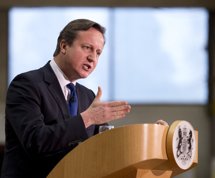 British Prime Minister David Cameron (AFP Photo/Oli Scarff)