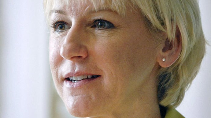 Swedish Foreign Minister Margo Wallstrom. (Image from wikipedia.org/Licensed under Creative Commons Attribution 2.5 Denmark)