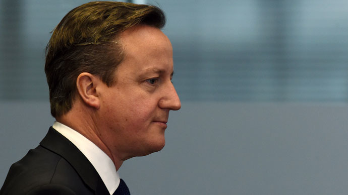 UK Prime Minister, David Cameron. (AFP Photo)