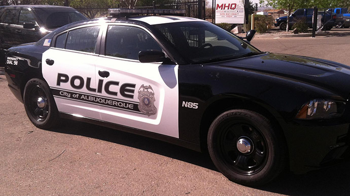 New Mexico police officers face murder charges in shooting death of homeless man