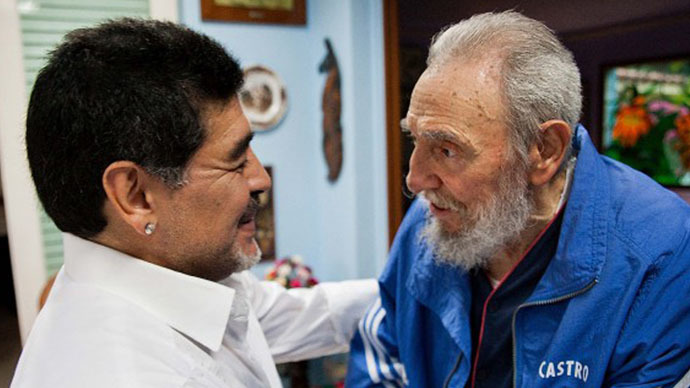 'Fidel doing very well': Maradona receives letter from Castro