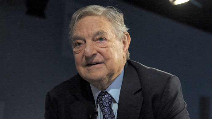 George Soros makes hush-hush trip to Kiev