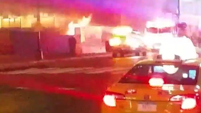 3-alarm blaze at NYC's Penn Station causes train delays, cripples rush-hour traffic