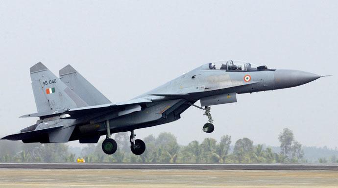 An Indian air force Sukhoi 30MKI (AFP Photo/Indranil Mukherjee)