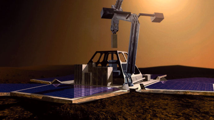 Beagle's about: Lost UK Mars probe 'may have been spotted'
