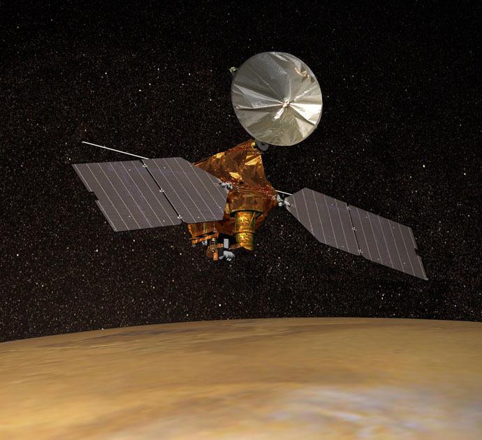 Mars Reconnaissance Orbiter (AFP/NASA)