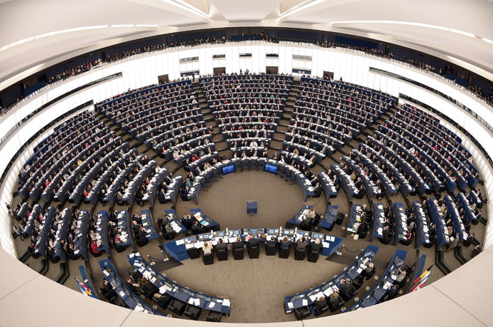 European Parliament in Strasbourg, eastern France (AFP Photo)