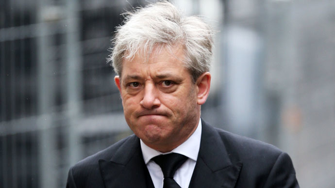 John Bercow, Speaker of the House of Commons. (AFP Photo)