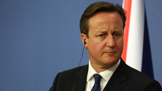 Britain's Prime Minister David Cameron (AFP Photo)