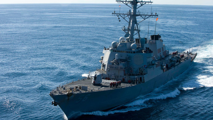 The guided-missile destroyer USS John S. McCain.(Reuters / Cheng S. Yang)