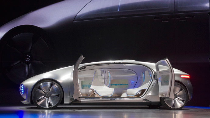 Mercedes-Benz F015 Luxury.(Reuters / Steve Marcus)