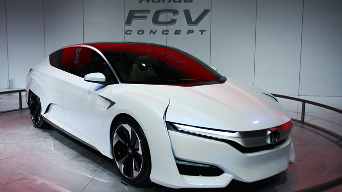 Honda FCV.(AFP Photo / Jonathan Knight)
