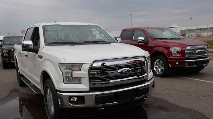 Ford 2015 F-150.(Reuters / Rebecca Cook)