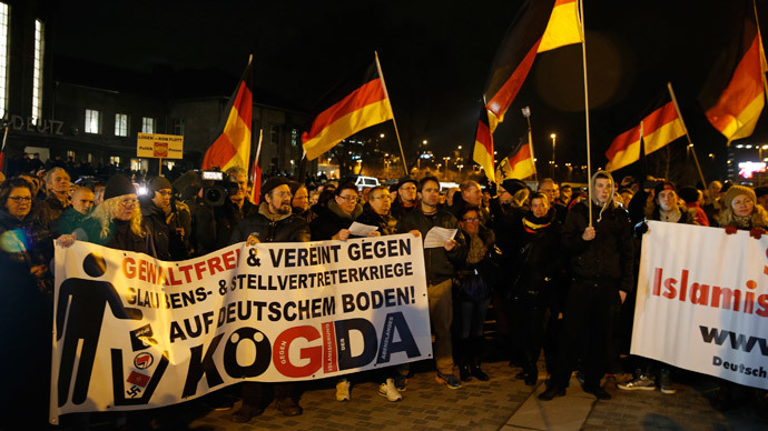 'Islam is welcome here, but we want to keep our culture' - PEGIDA to RT