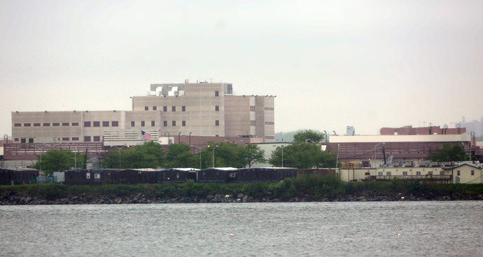 Buildings of the jail at Rikers Island (Reuters / Chip East)