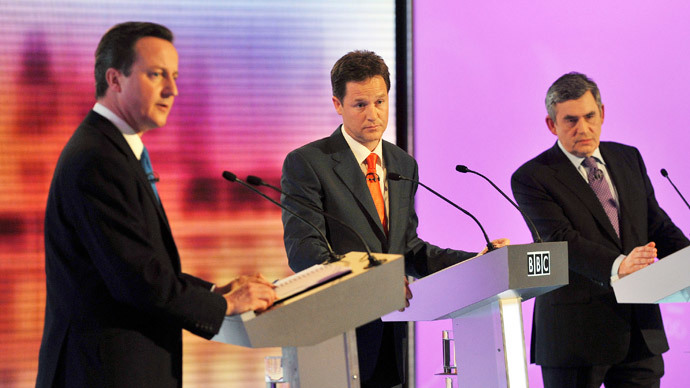 Election ultimatum: 3 party leaders threaten to go ahead with TV debates without PM David Cameron