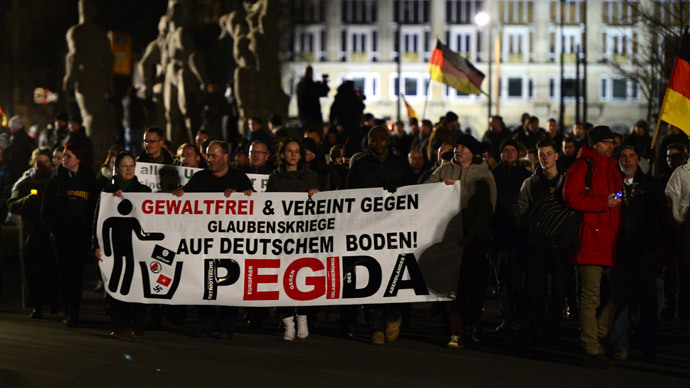 'Lying press': Anti-Islam PEGIDA slogan chosen nonword of the year