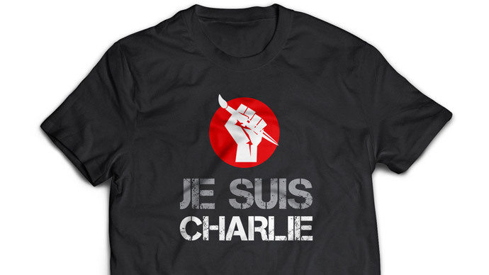 Tons of Charlie Hebdo merchandise flood internet as new edition sells within hours