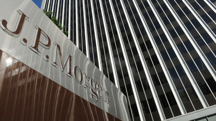 JPMorgan bank shows unexpected drop in profit over legal costs