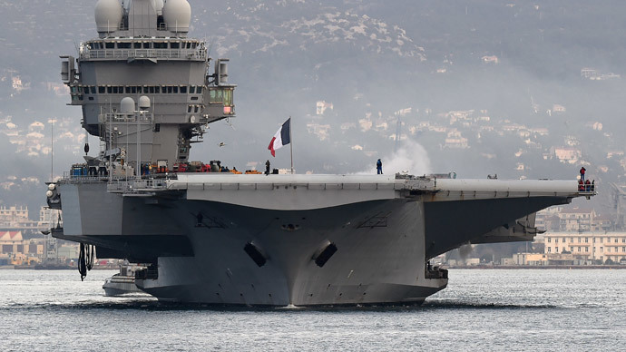 France sends Charles de Gaulle aircraft carrier for anti-ISIS op in Iraq