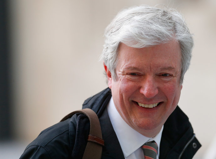 Tony Hall, Director General of BBC (Reuters / Andrew Winning)