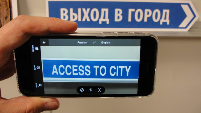 Travelers rejoice! Smartphones turned into real-time voice and sign translators