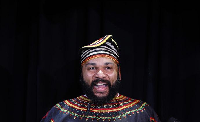 French comedian Dieudonne M'Bala M'Bala. (Reuters/Gonzalo Fuentes)