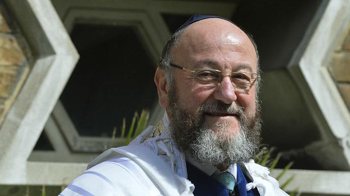 Chief rabbi-designate, Ephraim Mirvis. (Reuters/Toby Melville)