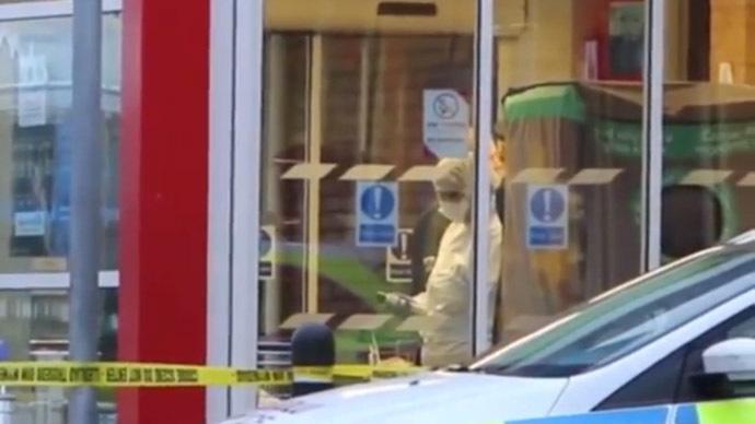 Suspect shouts 'white power' in 'racially motivated' machete attack