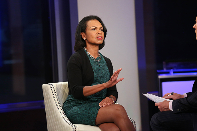 Condoleezza Rice (Rob Kim / Getty Images / AFP)
