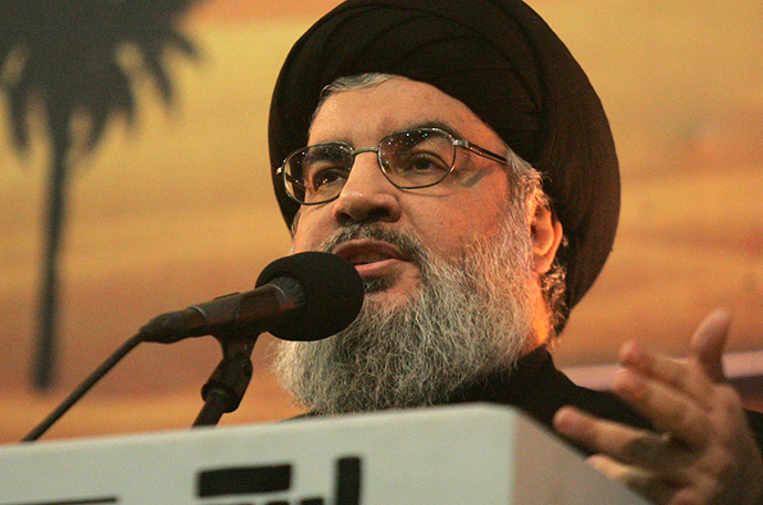 The head of Lebanon's militant Shiite Muslim movement Hezbollah, Hassan Nasrallah (AFP Photo / Str)