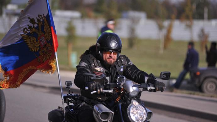 Russian Bikers' Association president Alexander Zaldostanov.(RIA Novosti / Anton Stekov)