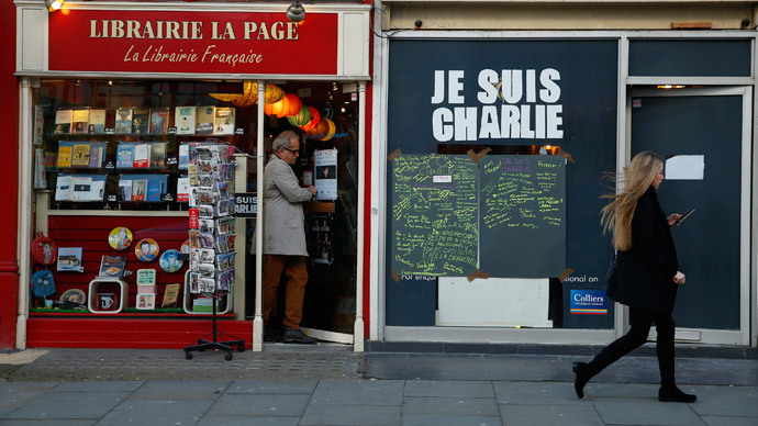 ​Charlie Hebdo sells out hours after hitting UK shelves