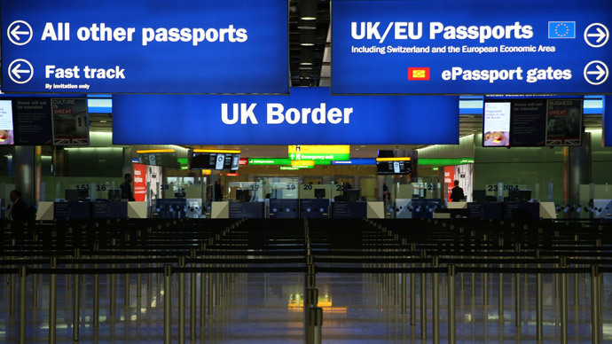 UK immigration triples as Cameron fails to keep election pledge